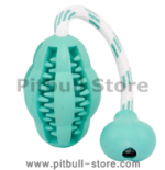 Looking for NYLABONE TOY FOOTBALL DOG TOY CHEW TEETHING Pitbull