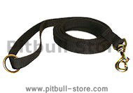 6FT Deluxe Nylon Lead with Swivel Snap for Pitbull