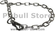 Fur Saver Chrome-Plated Choke Chain Collar