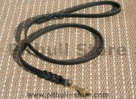 Handcrafted leather dog leash handmade laesh for walking-L3-13mm