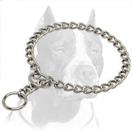 Extra Durable Pitbull Dog Choke Collar