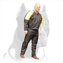 Practical Pitbull Dog Scratch Jacket for Training