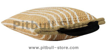 3 Handled Bite Pillow-THICK Jute Bite PAD