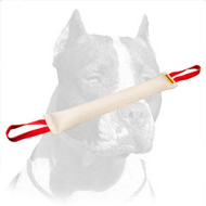 Fire Hose Pitbull Dog Bite Tug with 2 handles