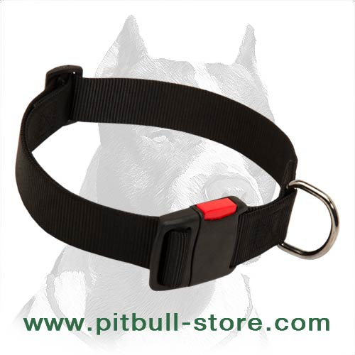 Comfortable wide Nylon Collar