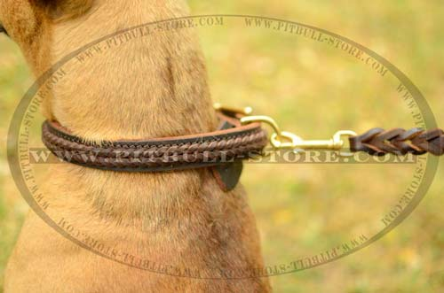 Handmade Collar with beautiful braid for decoration