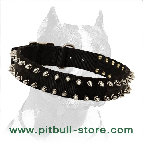 Attractive Dog Collar 1 1/2 inch (40 mm) wide