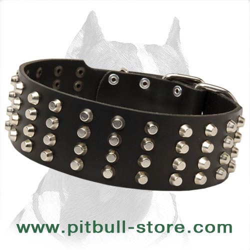 Extra Durable Dog Collar of Leather