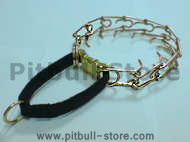 Curogan-Dog pinch collar & nylon loop and quick release buckle