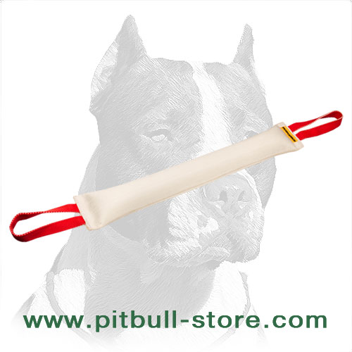 Dog training bite tug, fire hose material