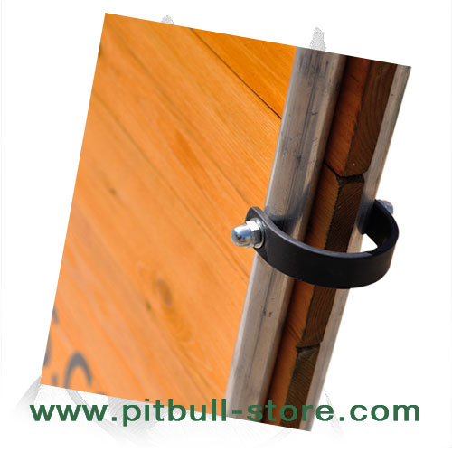 Rustproof steel handle of Pitbull training jump