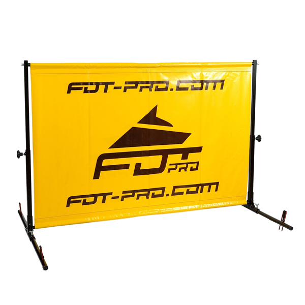 Ultra-lightweight dog training barrier