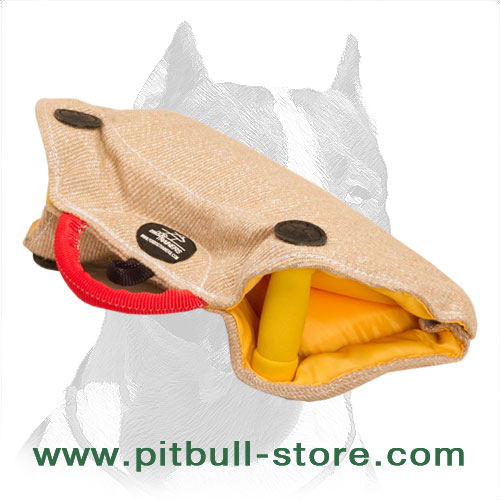 Soft and lightweight Pitbull bite builder