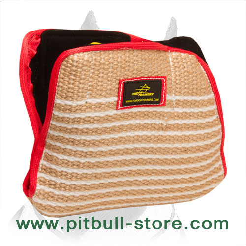 Jute bite builder for young Pitbulls