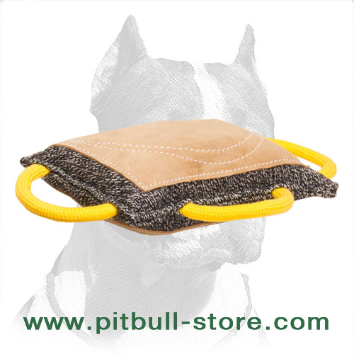 Training French linen bite pad for Pitbulls