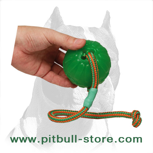 Dog ball for chewing, 3.5 inches
