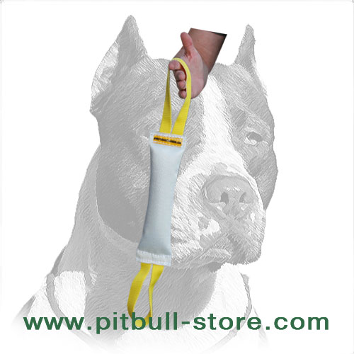 Sturdy dog bite tug for training Pitbulls