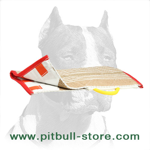 Jute cover for Pitbull training sleeve