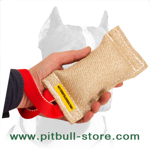 Pitbull training tug for     bite work