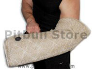 Puppy sleeve made of strong yet safe for your dog or puppy jute