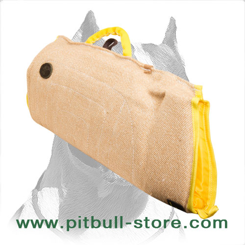 Jute Pitbull Dog Sleeve for Puppies