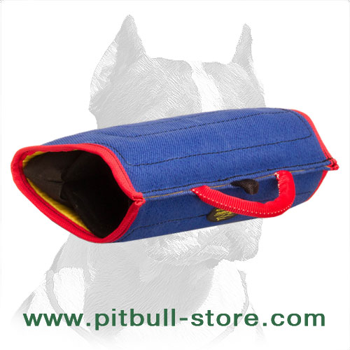 'All in One' Pitbull Dog Bite Builder for Training