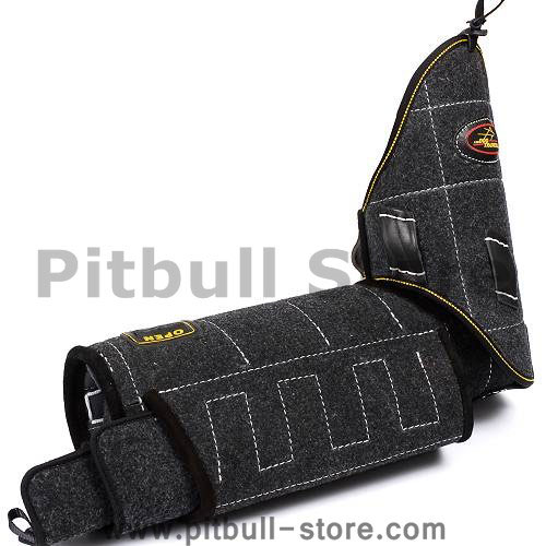 bite sleeve for training your pit bull