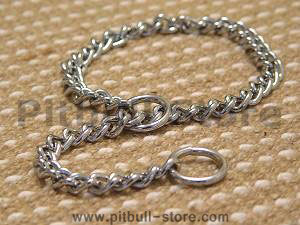 choker chain dog collar
