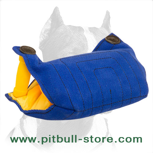 Safe and Strong Pitbull Dog Bite Builder
