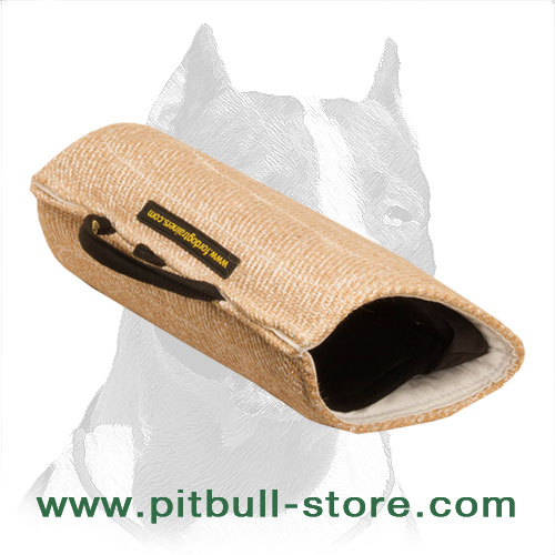 'Two-Fisted' Pitbull Dog Bite Builder