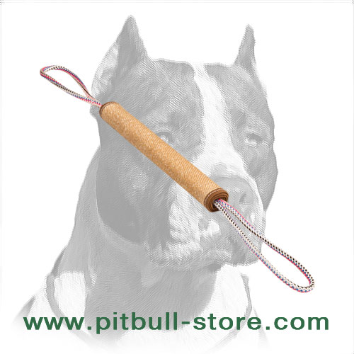 Pitbull Dog Rolled Jute Tug for Bite Training