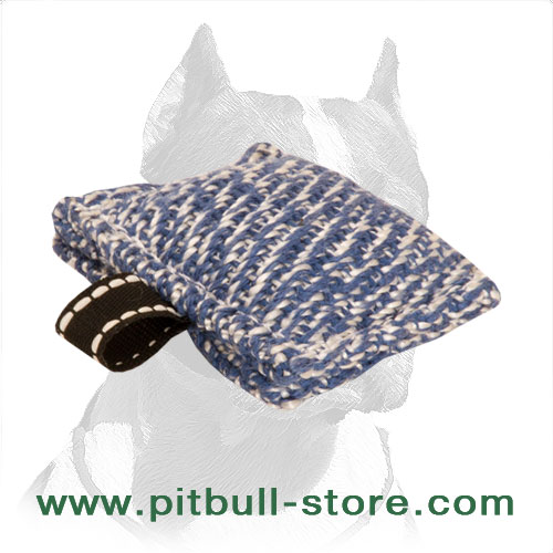 Handmade Design Pitbull Dog Bite Tug for Training