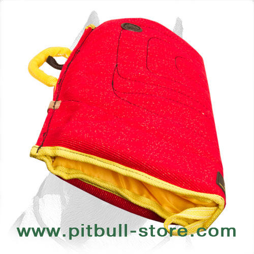 Bite Sleeve for Pitbull Puppies with Handle