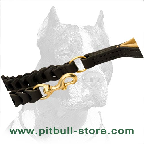 Good Leash with Strong and Luxury Brass fittings