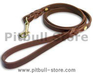 The Best Leather Dog Leash 60 cm -3/4 inch
