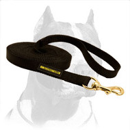 Professional Nylon Pitbull Dog Leash for Tracking in any Weather