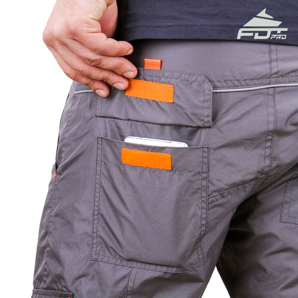 Comfortable Design FDT Pro Pants with Useful Back Pockets for Dog Trainers