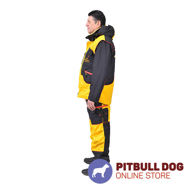 Ultimate in Convenience and Protection Dog Training Suit for Safe Training
