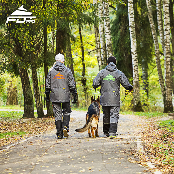 FDT Professional Dog Trainer Jacket of Fine Quality for Any Weather Use
