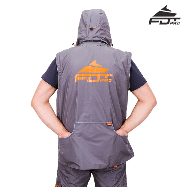 FDT Professional Dog Training Jacket with Side Pockets for your Convenience