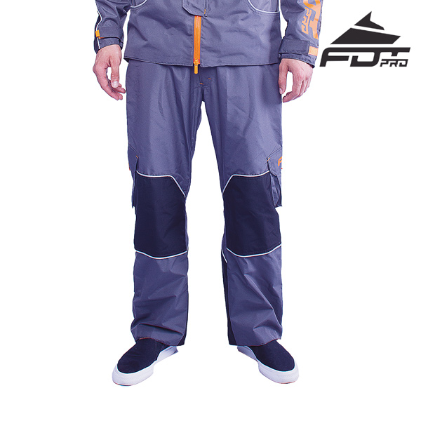 Pro Pants Grey Color for All Weather Use