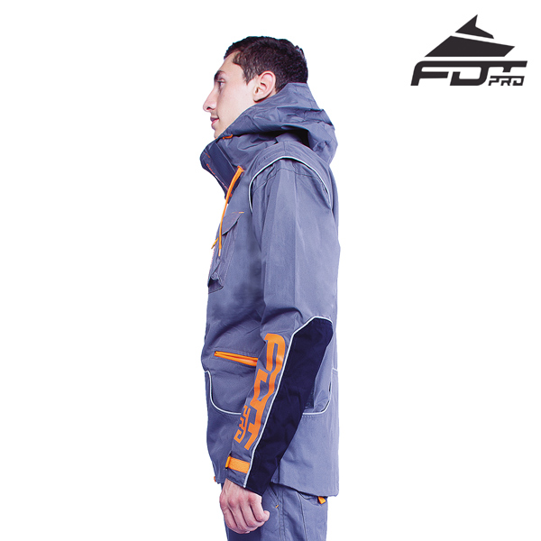 FDT Pro Dog Training Jacket of Fine Quality for Everyday Activities