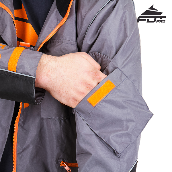 Useful Sleeve Pocket on FDT Pro Design Dog Trainer Jacket