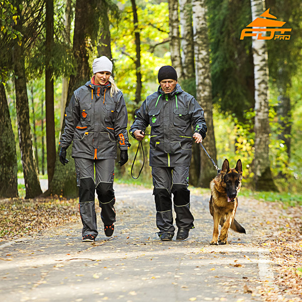 Any Weather Use Reliable Dog Training Suit for Men and Women