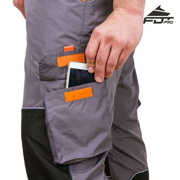 FDT Pro Design Dog Trainer Pants with Comfy Velcro Side Pocket