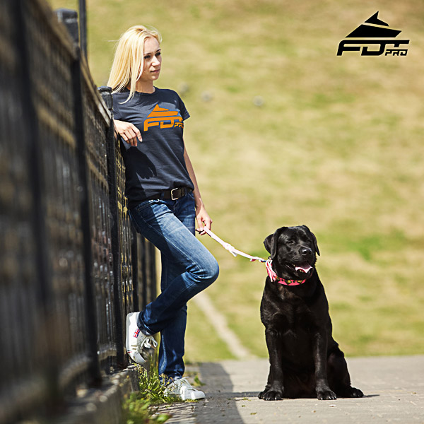Women T-shirt of Finest Quality Cotton for Dog Training