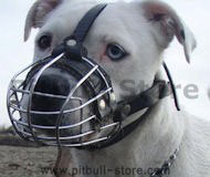 Wire Basket Dog Muzzle for Pitbull-Cage basket muzzles