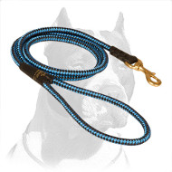Marvelous & Strong Pitbull Dog Leash with Chess Ornament