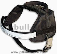 Puppy small, medium, large dog harness made of nylon with handle